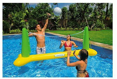 Pool Volleyball Inflatable Net Toy Includes Anchor Bags