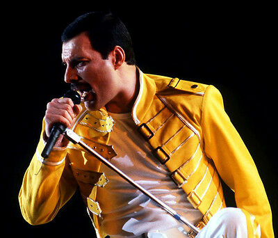 Freddie Mercury UNSIGNED photo - D773 - Lead vocalist of Queen