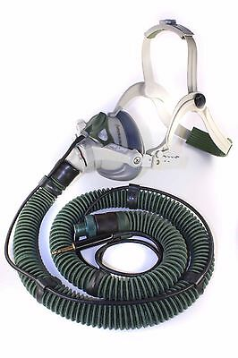 Commercial Airline Crew Oxygen Mask w/ Microphone - B/E Aerospace 114427-21
