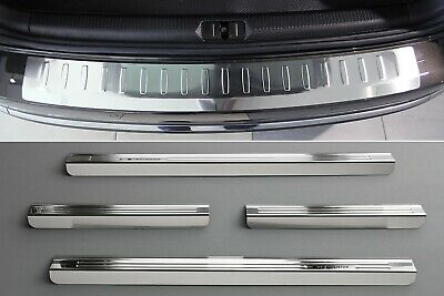 Door Sill and Loading Area Protector compatible with VW PASSAT B7 ALLTRACK