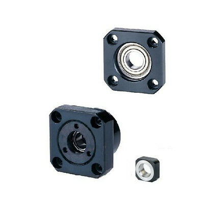 1 pcs FK12 Fixed Side +1 pcs FF12 Floated Side for SFU1605 SFU1604 Ball support