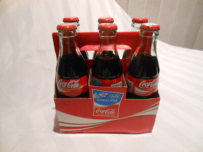 Coca Cola Case Of 6 237Ml Bottles From 2004 Olympics In Athens