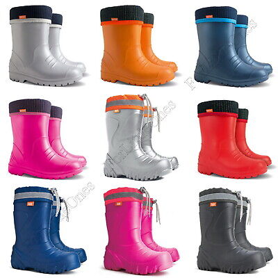 Kids Boys Girls Wellies Wellington Boots Rainy Boots ULTRALIGHT size UK 5-2.5