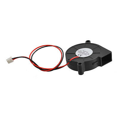 Black Brushless DC Cooling Blower Fan 5015S 5V 0.14A 50mm x 15mm AD