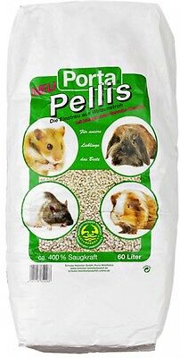 All Natural Porta Pellis Odour Absorber Low-Dust Straw Pellets For Small Pets
