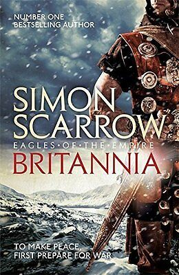 Britannia (Eagles of the Empire 14) by Simon Scarrow Paperback NEW BESTSELLER