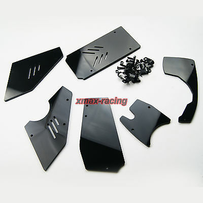 Front Rear windshild window for HPI Rovan KM Baja 5B SS Buggy