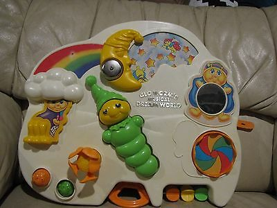 Playskool Glo Worm BusyBox 1985 Toddler Activity Center Baby Musical Dream World
