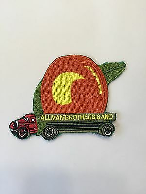 Allman Brothers Eat a Peach Embroidered Patch Iron on or Sew on