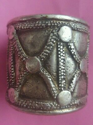 Handcrafted Old Ethiopian Tribal Bracelet ,African Jewelry,from Harar