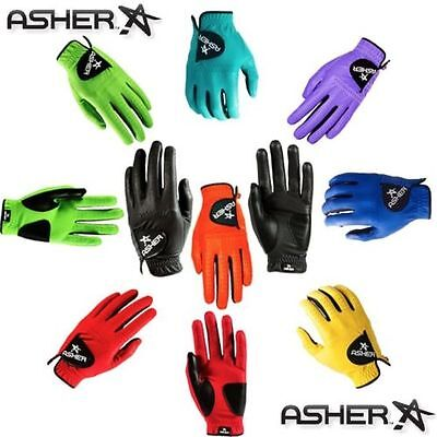 Asher Golf Gloves-Womens-In Various Bold Colors & Sizes - PLAY WITH STYLE - NIW