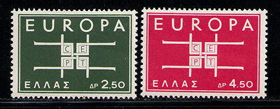 GRECIA/GREECE 1963 MNH SC.768/769 Europe,CEPT