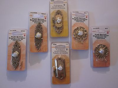 Heath Zenith Trine Doorbells Push Button For Chimes Bells Buzzers Factory Sealed