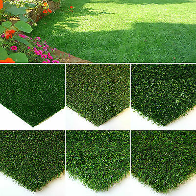 Artificial Grass Quality Astro Turf Cheap Realistic Modern Green Lawn Garden