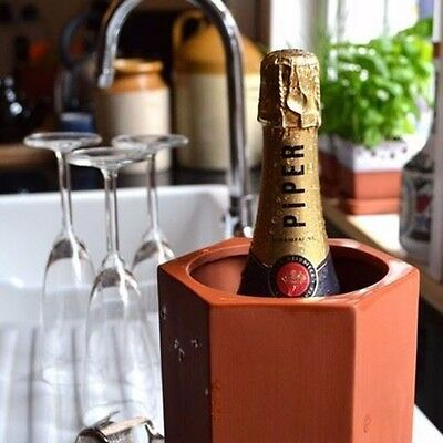 Terracotta Wine Cooler with Saucer
