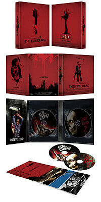 The Evil Dead I & II / 1 & 2 Limited Edition Digipack [Blu-ray] *NEW