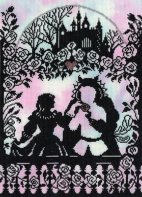 Bothy Threads BEAUTY AND THE BEAST FAIRY TALES Cross Stitch KIT XFT9 NEW