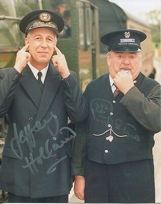 Oh Doctor Beeching comedy photo signed Holland & Shane UACC Dealer
