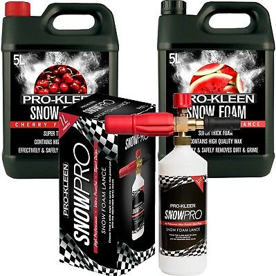 Pro Kleen Snow Foam Lance Car Compatible With Karcher K Series Pressure Washer