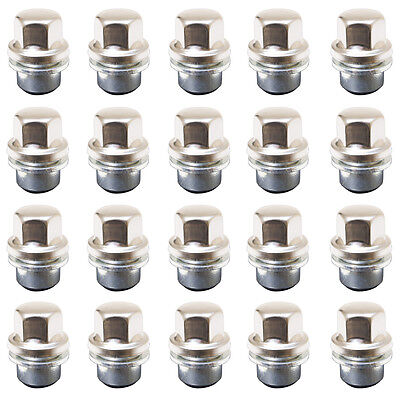 20 x 27mm Alloy Wheel nuts Range Rover Classic 1986 - 94 Defender Discovery Mk1