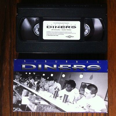 Suburban Diners  ~ Powell Skateboard Video 1994 HTF vintage VHS