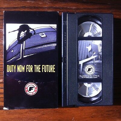 Duty Now For The Future  ~ Foundation Skateboard Super Co. Video 1997 HTF VHS