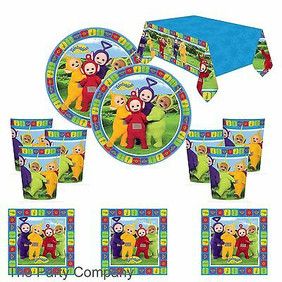 Teletubbies Girls Boys Birthday Party Pack for 8 Plates Cups Napkins