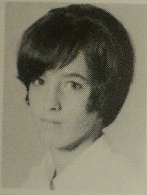 Pat Simmons signed High School Yearbook also Notorious Student Susan Atkins
