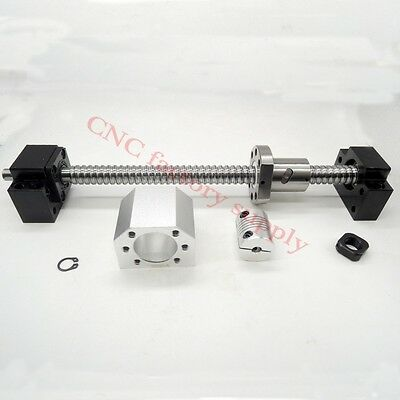 L500mm -C7 with nuts+BK12 / BF12 End+Coupler+support Ballscrews SFU 1605 set