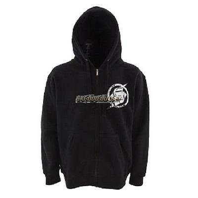 Slednecks Burandt Zip-up Hoody - Black