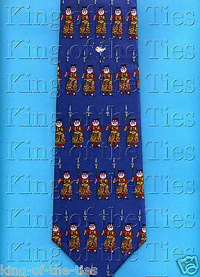 FREE P&P* 100% Silk - Yeoman of the Guards Beefeater London Novelty Tie    #1142