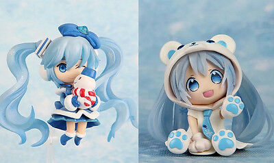 hatsune miku set of 2pcs pvc figure toy anime collection new ARRIVAL