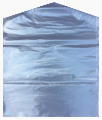 Clear Polythene Garment Covers Clothes Suit Coat Dress DRY Cleaner Bags