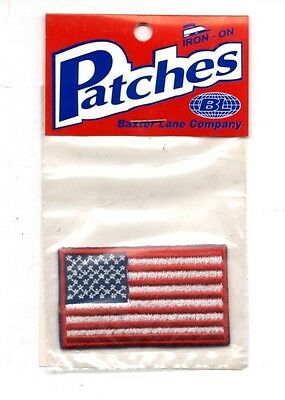 USA United States Flag Souvenir Travel Patch - Brand New - Free Shipping!