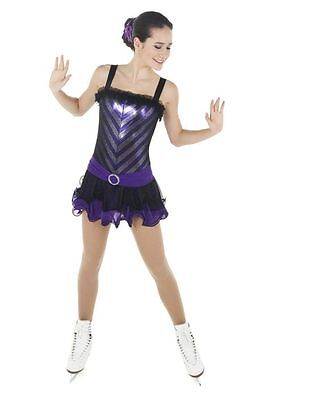 New Competition Skating Dress Xpression 1442 SIZE 12-14