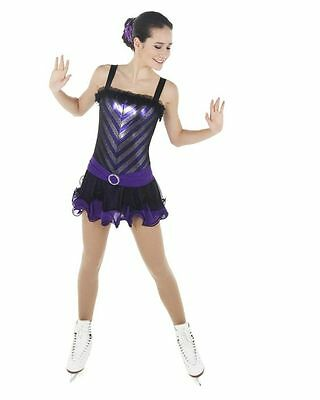 New Competition Skating Dress Xpression 1442 SIZE ADULT LARGE