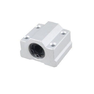 16mm SC16UU (2pcs)Linear Ball Bearing Pellow Block Linear Unit FOR CNC