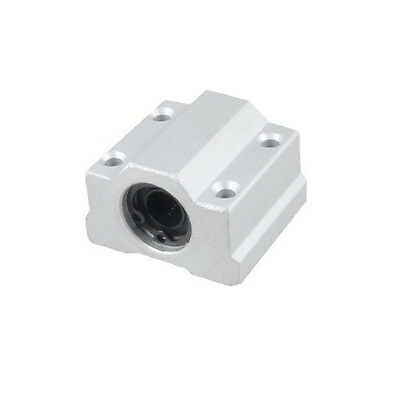 8mm SC8UU (10pcs) Linear Ball Bearing Pellow Block Linear Unit FOR CNC