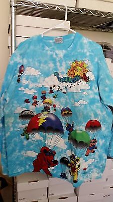 GRATEFUL DEAD 1993 Spring Tour vintage licensed concert long-sleeved XL shirt