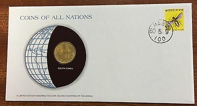 Coins of all nations coin and pnc - South Korea