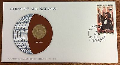 Coins of all nations coin and pnc - Cameroon