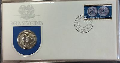 1975 Papua New Guinea first day of issue cachet - k1