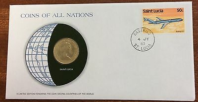 Coins of all nations coin and pnc - Saint Lucia