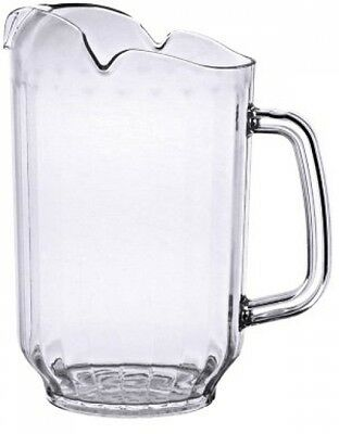 64 Oz. Water Pitcher - Clear PolycarbonateExcellante NEW FREE SHIPPING