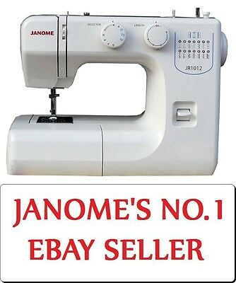 Janome JR1012 Sewing Machine - Functional Workhorse, Affordable Quality, SALE!