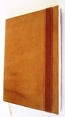 Leather Journal Handmade cover Pocket Notebook Blank Natural Color