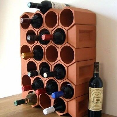 24-bottle Terracotta Wine Cellar