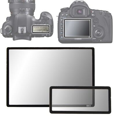 Hard Pro Optical Glass LCD Screen Protector for Canon EOS 5D Mark III 5DIII DSLR