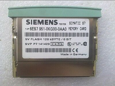 Used SIEMENS 6ES7 951-0KG00-0AA0 128KB Memory Card 5V FLASH Tested