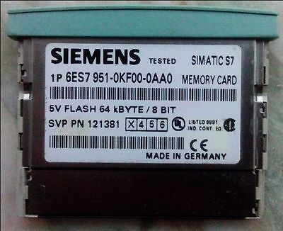 Used Siemens 6ES7 951-0KF00-0AA0 Memory Card Tested